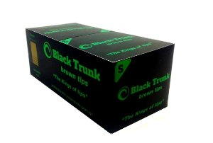 Piteira de Papel Black Trunk Brown Small - Box 20 un