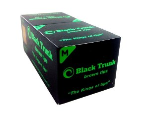Piteira de Papel Black Trunk Brown Medium - Box 20 un