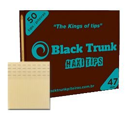 Piteira de Papel Black Trunk  Haxi 47mm