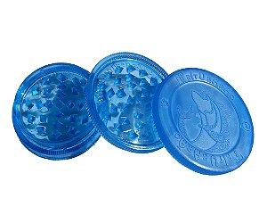 Dichavador Grande Tritubarão 3 partes - Azul