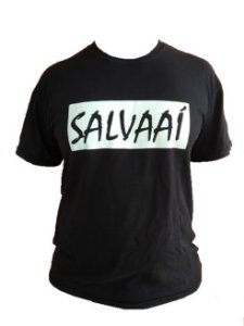 Camiseta Salva Aí - Preta