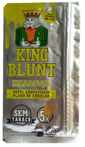 King Blunt sabor Maracujá Sem Tabaco