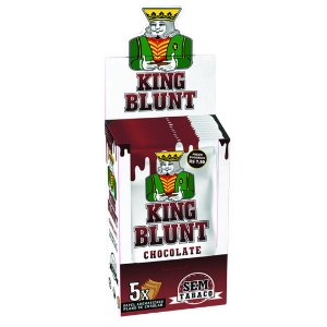 King Blunt Chocolate Sem Tabaco - Display 25un