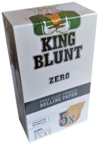 King Blunt Zero Sabor - Display 25un