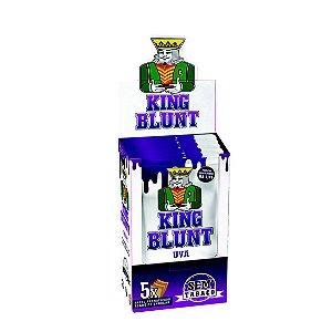 Caixa King Blunt Uva Sem Tabaco - 25 pacotes