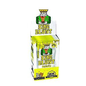 Caixa King Blunt Banana Sem Tabaco - 25 pacotes