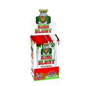 Caixa King Blunt Melancia Sem Tabaco - 25 pacotes