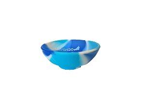 Mini Cuia de Silicone - Azul