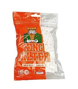 FILTRO DE ACETATO 7,7MM REGULAR LONG KING FILTER - 200 FILTROS