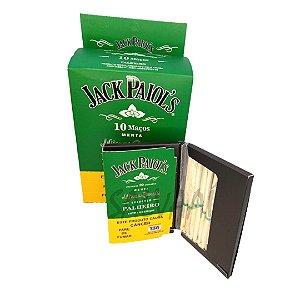 Cigarrilha de Palha Jack Paiols Menta - Caixa com 10 maços