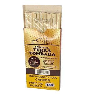 Cigarrilha de Palha Terra Tombada - Ouro