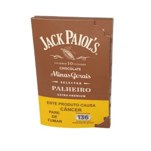 Cigarrilha de Palha Jack Paiols - Chocolate