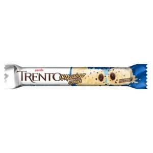 Chocolate Trento Massimo - Branco com Cookies