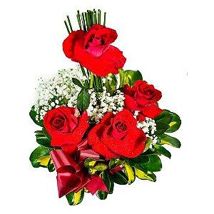 Arranjinho de Rosas Vermelhas