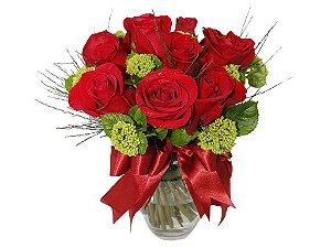 Duas Dúzias de Rosas Importadas e Brotos