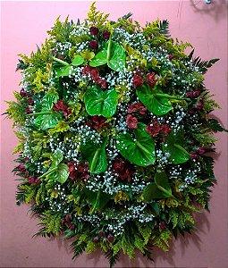 Coroa Fúnebre Pequena Simples