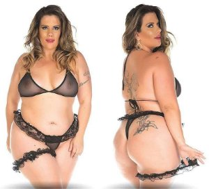 Mini Fantasia Plus Size Pimenta Sexy