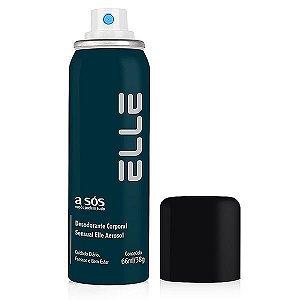 Desodorante Íntimo Masculino Elle 66 ml