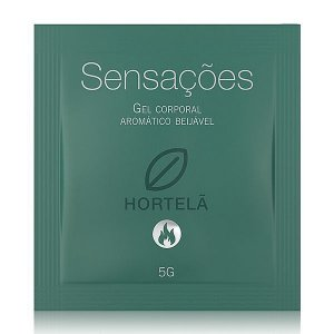 Gel Sexo Oral Hortelã Hot 5g