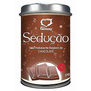 Vela Beijável Sedução Chocolate