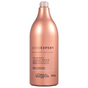 1244524ea Loreal Shampoo Absolut Repair Pos Quimica - 1500ml