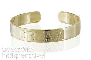 Pulseira Dream Dourada e Prateada