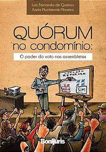 Caixa com 40 livros - Quórum no condomínio: o poder do voto nas assembleias