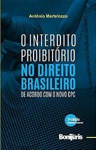 Caixa com 20 livros - O Interdito Proibitório no Direito Brasileiro de acordo com o novo CPC