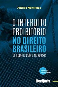 Caixa com 48 livros - O Interdito Proibitório no Direito Brasileiro de acordo com o novo CPC