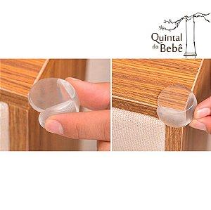 Protetor de quinas de silicone - lote com 12 pcs