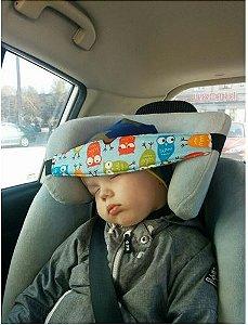Apoio de cabeça para bebe no carro