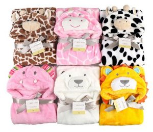 Cobertor de bebê bichinhos