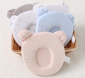 Travesseiro para moleira do bebê