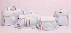 Conjunto de bolsas maternidade - Mamy Chic Azul