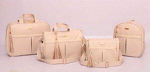 Conjunto de bolsas maternidade - Mamy Chic Pérola