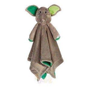 Naninha Elefante Verde em Plush Sonho de Luz