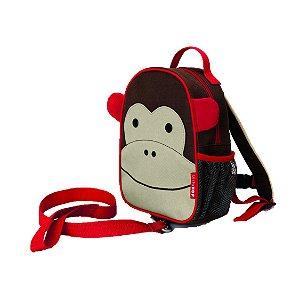 Mochila com cinto Skip Hop - Linha Zoo - Coleção Macaco