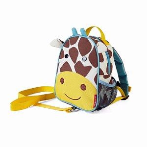 Mochila com cinto Skip Hop - Linha Zoo - Coleção Girafa