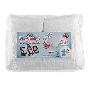Assento Estofado Baby Comfort Branco - Fibrasca