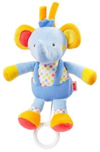 Mini Pelucia musical NUK Elephant