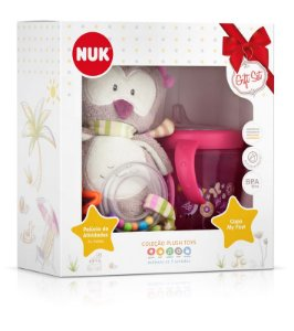 Kit NUK Pelúcia LILY + Copo My first