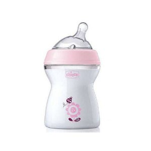 Mamadeira Step Up 250Ml - Chicco Rosa