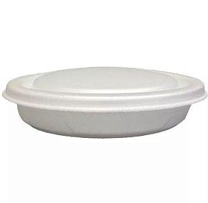 Marmitex com tampa 100 c/ 100 un.