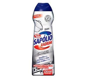 Bombril Sapólio Limpa Inox 250 ml