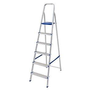 Mor Escada de Alumínio 6 degraus