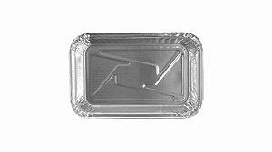 Life Clean Marmitex de Alumínio Bandeja 750 ml c/ Tampa de CA c/ 100 un