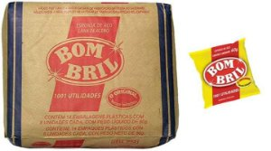 Bombril Esponja de Lã de Aço Fardo com 14 pct x 08 un c/ 60 g.