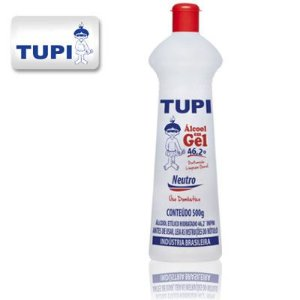 Tupi Álcool Gel 46,2° 500 ml