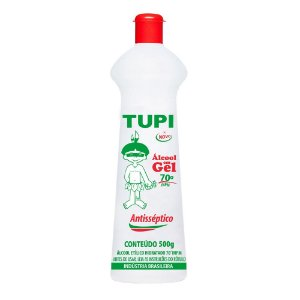 Tupi Álcool Gel 70° 500 ml