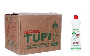 Tupi Caixa Álcool Gel 70° 500 ml c/ 12 un.